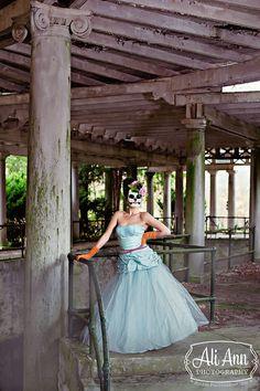 "Photographer : Ali Garey Wheeler  Creative director , stylist , accessories & ""Dia de los muertos"" Masks : Maui Crane  Model : Lydia Faith Bennett  Hair : Raina Trimble  Wardrobe & gloves : Curtis A Grace  Canes : Pops Resale"