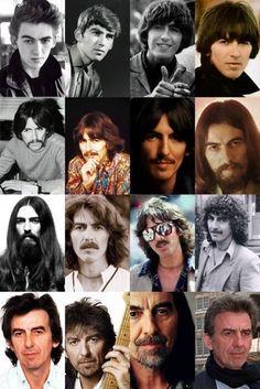 George Harrison Thru The Years