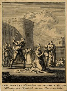 On May 12th, Anne and her brother were tried and on May 15, convicted of high treason. Anne's own father and uncle, Duke of Norfolk, who sat over the twenty-six peers serving as her judges, were instrumental in achieving her death sentence. No vestige of evidence remains.    On May 17th, Smeaton was hanged and the other four beheaded, followed by Anne, who was also beheaded two days later upon Tower Green. The following day King Henry betrothed himself to Jane Seymour.