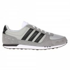 Adidas NEO City Racer Trainer Mens - Grey / Black / White