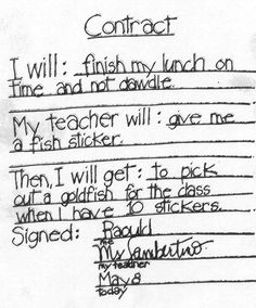The Smartteacher Resource Classroom Contract  Art Lessons