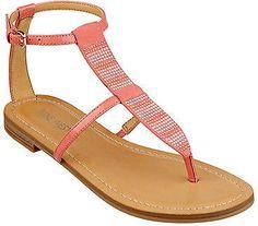 53a878651c6 Nine West Finnius Thong T-Strap Sandals Sandal