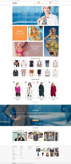 18+ Beautiful Ladies Fashion, Clothing & Accessories Shopify Themes - Original Clothing Shop