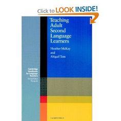 Teaching Adult Second Language Learners (Cambridge Handbooks for Language Teachers)