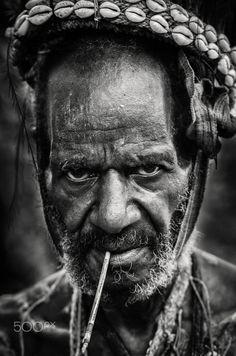 Sepik river man - A man of the Sepik River in Northern Papua New Guinea