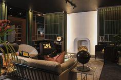 Home - Julia Day Interior Architecture and Design Oak Bookshelves, Delta Light, Loft Style, Stand Design, Create Space, Interior Design Studio, Soft Furnishings, Contemporary Furniture, Timeless Design