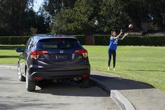 From witnessing a game-winning interception to just keeping you company, the HR-V Crossover is always on your team.
