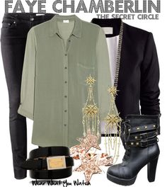 Inspired by Phoebe Tonkin as Faye Chamberlin from The Secret Circle.