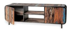 Vintage Industrial TV Cabinet/Sideboard