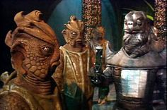 Silurians and Sea Devils together in Warriors of the Deep