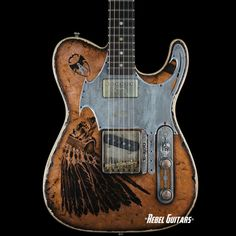 "bushdog: (via Scala Guitars T-rod ""Indian"" in Copper 