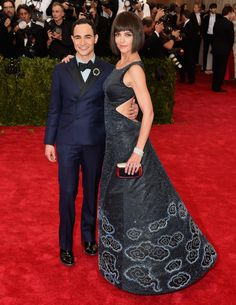 Met Ball 2015: celebrities arrive on the red carpet – in picturesZac Posen and Katie Holmes