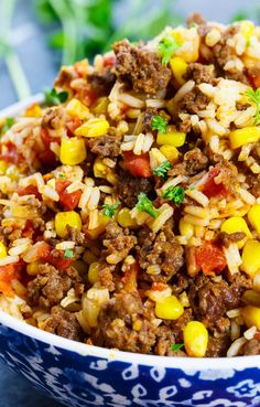 Mexican Chorizo Rice is a fully flavored and spicy rice dish that goes great with tacos, quesadillas, burritos, you name it! It's loaded with fresh chorizo Authentic Mexican Recipes, Mexican Food Recipes, Ethnic Recipes, Chorizo Rice, Mexican Chorizo, Mexican Chicken, Mexican Slaw, Mexican Easy, Chorizo Tacos