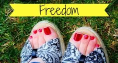A must-read! The inspiring story of a missionary wife and mother who learned freedom to be who she was created to be! Freedom in the growing pains!