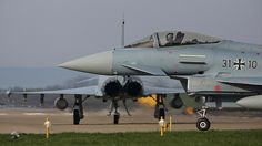"""Luftwaffe - German Airforce Eurofighter EF2000 31+10 """"check right"""""""