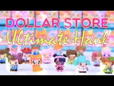 (1) Unbox Daily: Ultimate Dollar Store Toy Haul | Fun Finds | Blind Boxes | Doll Fashion - YouTube