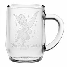 Tinker Bell Glass Mug by Arribas - Personalizable | Drinkware | Disney Store