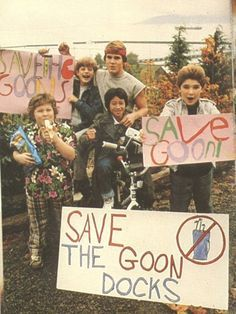 Got to love the goonies
