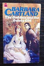 The Goddess And The Gaiety Girl ~ BARBARA CARTLAND ~ Vintage Romance