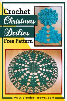 Buying Christmas decorations can be fun, but why not make it more special by making your starting with these crochet Christmas doilies?These lovely, Christmasy doilies will surely be a great addition to your festivity decorations!There are a lot of doilies you can make, but only some of them are Christmas-themed. To narrow down your choices, we listed five of the best crochet Christmas doilies available online.#crochetpattern Crochet Christmas Stocking Pattern, Holiday Crochet Patterns, Doily Patterns, Knitting Patterns Free, Free Pattern, Christmas Patterns, Crochet Chart, Free Crochet, Crochet Home Decor