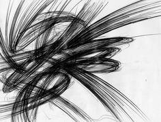 pencil - drawing - rubberbands - Giuseppe Santoro