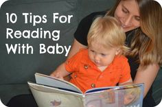 Get baby excited about reading with these 10 tips from The Pleasantest Thing