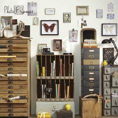vintage storage cabinets