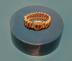 Bracelet recovered from the Titanic