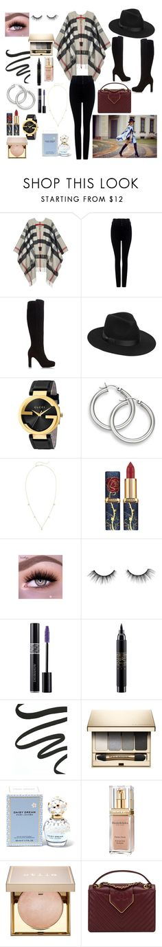 """""""Autumn City Girl"""" by kimberleyh20 ❤ liked on Polyvore featuring Burberry, Citizens of Humanity, Dune, Lack of Color, Gucci, ZoÃ« Chicco, tarte, Christian Dior, MAC Cosmetics and Laura Mercier"""
