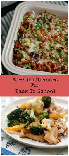 No-Fuss Dinners for