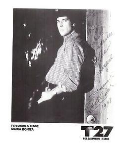 Fernando Allende Signed Photo | eBay