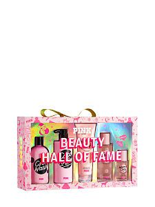 From lip gloss to body lotions, shop all of our Beauty products. Only at PINK. Pink Perfume, Perfume Bottle, Victoria Secret Body Spray, Gift Baskets For Women, Spa Accessories, Victoria Secret Fragrances, Pink Body, Birthday Wishlist, Beauty Shop