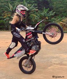 21 Best Ideas For Dirt Bike Girls Watches Ducati, Dirt Bike Girl, Pink Dirt Bike, Biker Chick, Biker Girl, Motorcycle Women, Motorcycle Quotes, Motorcycle Gear, Triumph Motorcycles