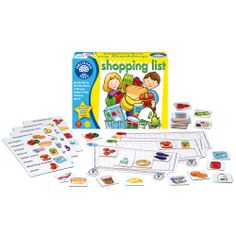 One of our most popular games. Shopping List is a great twist on memory and is a delightful way to introduce kids to all the healthy necessities available at the grocery store. Orchard Toys award winning, sustainably produced games are available at Dilly Dally Kids.