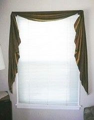 How to Sew a Fishtail Valance - Free Sewing Pattern