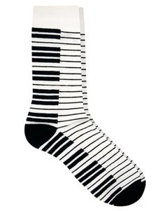 ASOS Socks With Piano Design