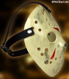 Freitag der 13. (Teil 4): Jason Voorhees Maske, Fertig-Modell, http://spaceart.de/produkte/fdd002.php