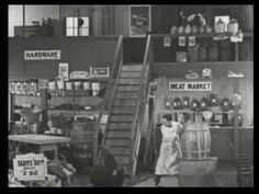 23. An accident at the grocery. | Fast and Furious (1924)