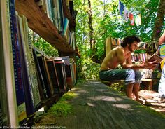 The Library at the Oregon Country Fair | 59 Images That Prove Northwest Is Truly Best