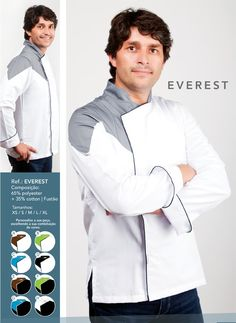 Jaleca Everest/Everest chef coat