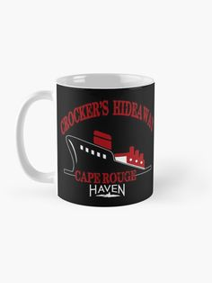 """Crocker's Hideaway Cape Rouge - Haven"" Mug by HavenDesign 