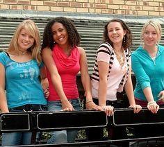 Left To Right: Kia(Kristy), Keenan(Carole), Lara(Lisa) & Sophie(Stevie) Australian Saddle, Cute Horses, Great Tv Shows, Cara Delevingne, Celebs, Celebrities, Season 2, Famous People, Pop Culture