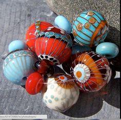 Magdalena Ruiz MruMru Handmade Lampwork Glass par magdalenaruiz