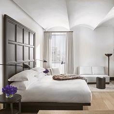 Bom dia NY! Meu quarto durante esta semana de #NYFW no @editionhotels! Ele é muito aconchegante e com uma vista de tirar o fôlego  #newyorkEDITION