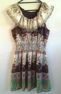 Clotheswap - beautiful summer dress Beautiful Summer Dresses, Real Women, Size 14, Curves, Peplum, Blouse, Clothes, Tops, Fashion