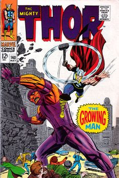 The Mighty Thor #140 - Stan Lee and Jack Kirby