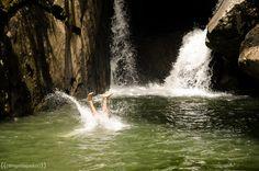 Park Waterfall of the Swallows #Brazil | Photo by - Higor de Padua Vieira Neto
