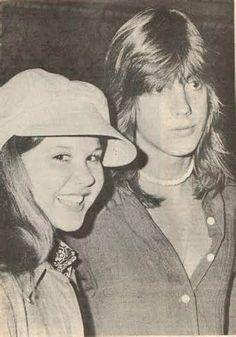 Shaun Cassidy and Linda Blair