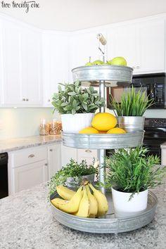 13 Farmhouse Kitchen Organization and Storage Ideas