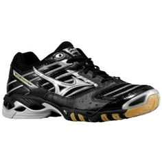 info for 2438a c1020 MIZUNO  Wave Lightning 7 - Black Silver. Volleyball Stuff · WOMEN S SHOES